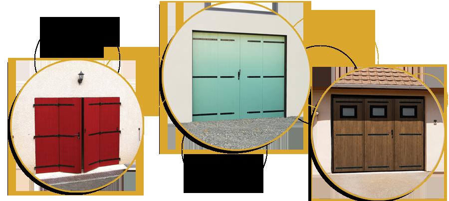 Bulles Portes de Garage Composite Polyhabitat